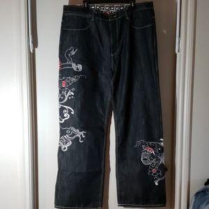 Artful Dodger Embroidered Jeans